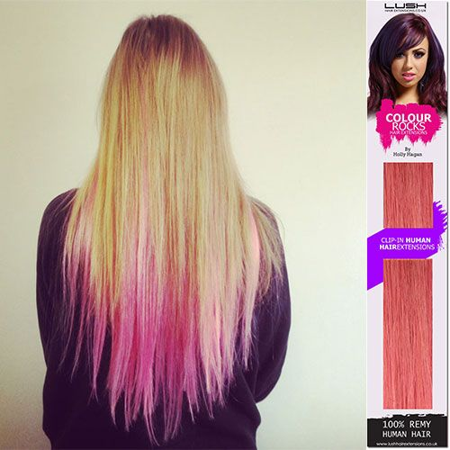 Best 25 lush hair extensions ideas on pinterest best swimsuit lush hair extensions holly hagan colourful range in pink lushpromhair pmusecretfo Choice Image