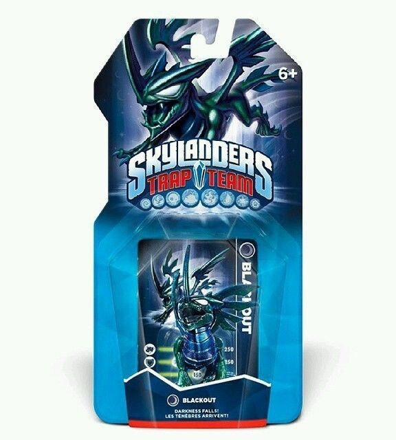 Skylanders Trap Team BLACKOUT (black out) Skylander preorder VERY RARE!!!