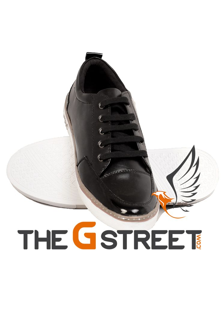 Dominate on any surface with the best casual shoes from The G Street. Shop Black Sneakers at Rs.1599/- only. Don't miss out and click here to see more! Visit www.thegstreet.com Or, whatsapp us at +919643005488. For wholesale inquiries, call or whatsapp us at +919555278001. #mensfashion #menswear #mensfootwear #lifestyle #menstyle #menslook #menscasualwear #menshoes #mensneakers #menstyleguide #fashionstyle #fashionblogger #fashionworld #mensfashionpost #shoponline #fashionlovers…