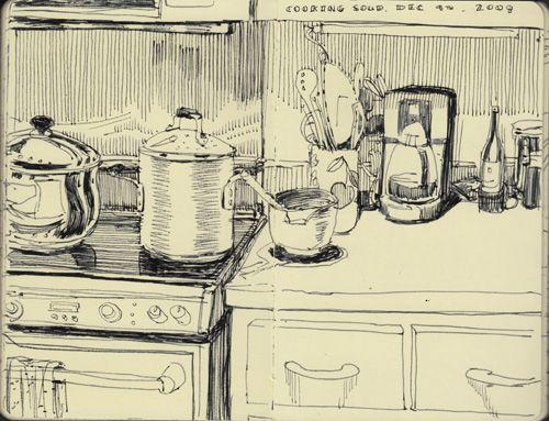 Graham Smith / Restaurant Sketchbook