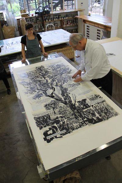 William Kentridge trees