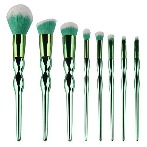 Sikye 8PCS Smudge Brush Eyeshadow Eyebrow Eyeliner Blush Concealer Brushes Makeup Brushes Tools Makeup Brushe Set * BEST VALUE BUY on Amazon