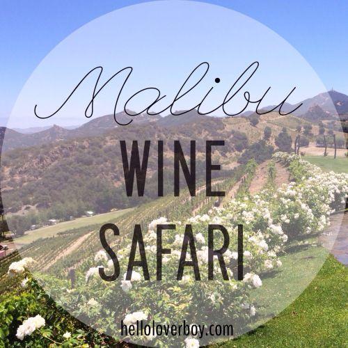 Malibu Wine Safari