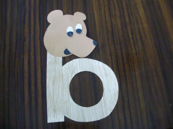 B is for Benny Bear- Houghton Mifflin Alphafriends