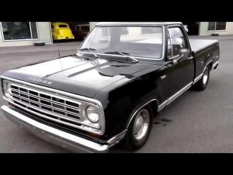 1975 Dodge D100 Adventurer Sport Youtube In 2020 Dodge Valve
