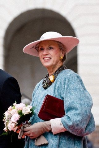 Princess Benedikte, October 7, 2014 | Royal Hats.... Posted on October 7, 2014 by HatQueen....The Danish Royal Family attended the opening of Parliament today in Copenhagen.