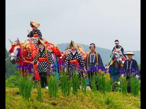岩手県滝沢村「チャグチャグ馬コ」The horses parade (Chagu Chagu Umakko Festival ) 花の名所案内