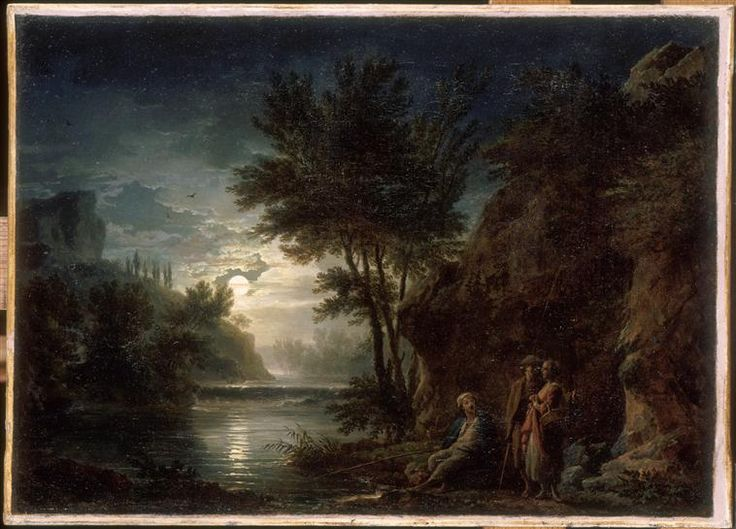 Joseph Vernet | Paysage au clair de lune | Images d'Art