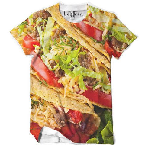 Tacos Men's Tee $39 http://belovedshirts.com/products/mens-tacos-tee   #NeverExpected Gift
