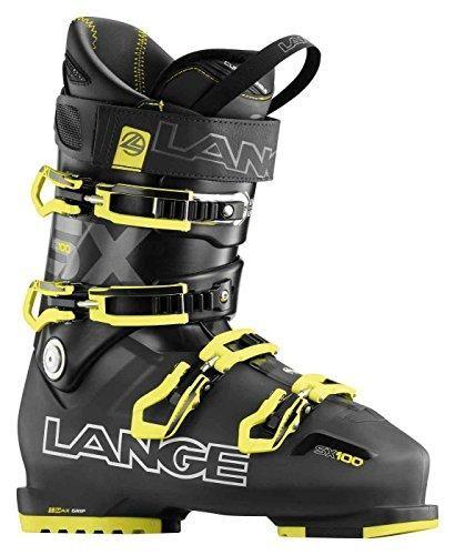 Oferta: 298.9€ Dto: -22%. Comprar Ofertas de Lange SX 100 - Botas de esquí para hombre, color negro / amarillo, talla 27.5 barato. ¡Mira las ofertas!