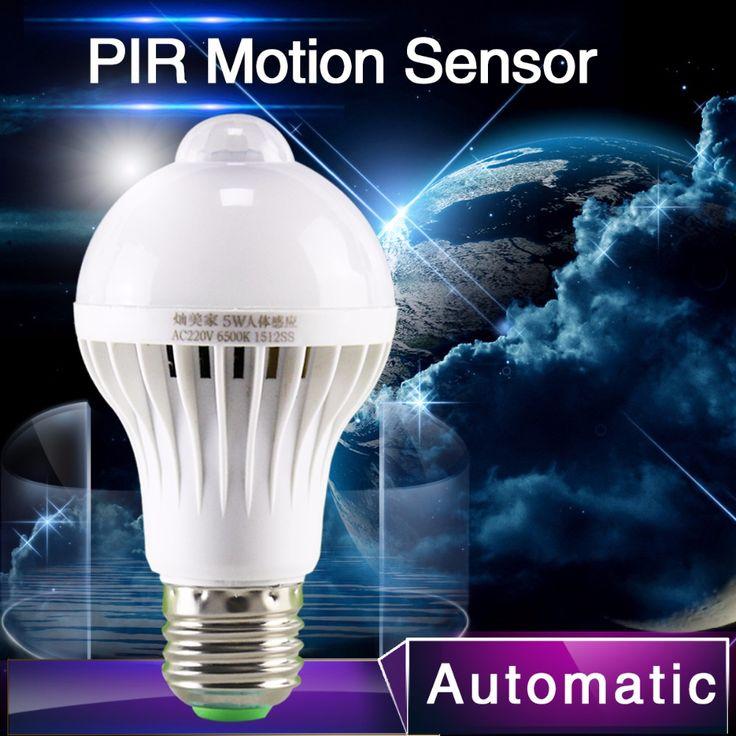 Купить товар1 шт. PIR датчик движения лампы 5 Вт из светодиодов E27 лампа 7 Вт 9 Вт авто смарт из светодиодов пир инфракрасный фонарь тело с движения сенсор фары в категории Светодиодные лампы и трубкина AliExpress.         1 шт. PIR датчик движения лампы 5 Вт Светодиодная лампа E27 7 Вт 9 Вт Авто Смарт светодиодный ПИР Инфракрасный с http://ali.pub/pndrg