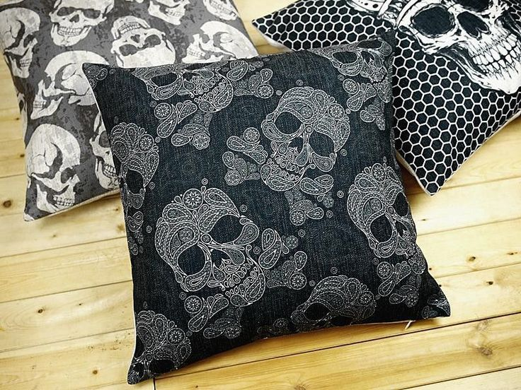 Punk Skull Pillow Case