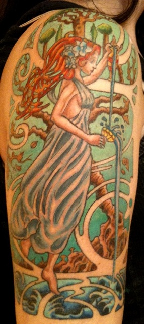 Art Nouveau Tattoo Design By Tegan Ray: 35 Best The Best Tattoo Artist EVER!!!! Images On