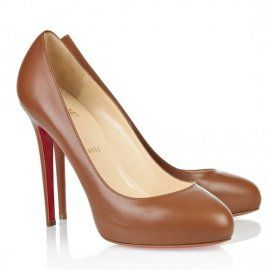 Christian Louboutin Pices Pumps Delic Leather Brown
