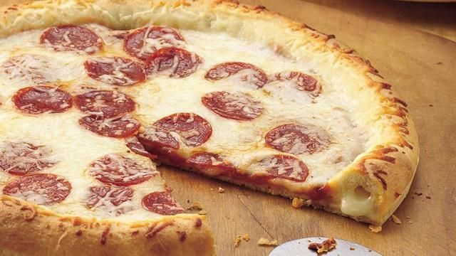 Stuffed-Crust Pizza Recipe + How-to Video