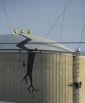 Op deze Wereld Radiologie Dag nemen we het graag op voor kernenergie. Dat kernenergie slecht voor de natuur is, moeten we je hopelijk niet meer helemaal uitleggen.  foto Greenpeace / Eric De Mildt