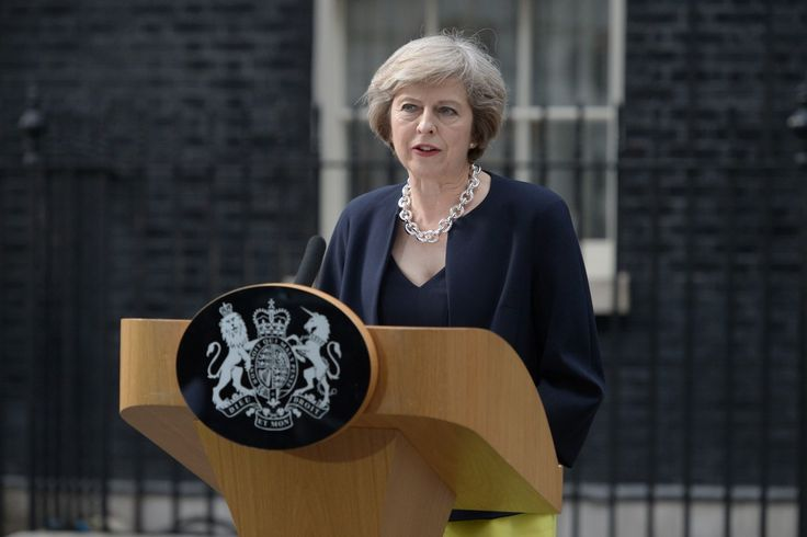 """Full transcript: Theresa May's first speech as Britain's prime minister.  """"We will make Britain a country that works not for a privileged few, but for every one of us."""""""