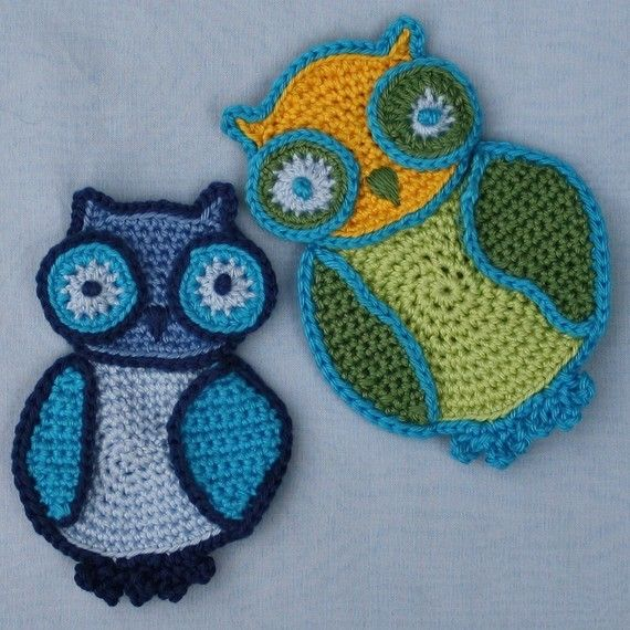 Free Owl Stuffed Cuddly Crochet Pattern : 422 best images about Applique on Pinterest Free pattern ...