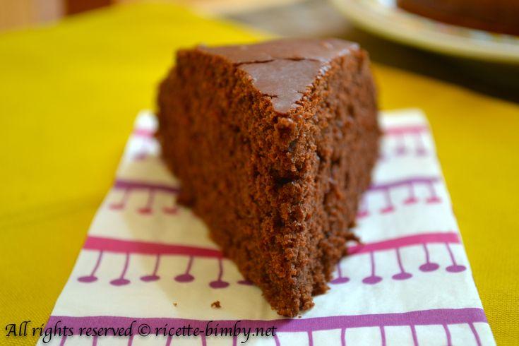 Torta al cioccolato e tofu Bimby