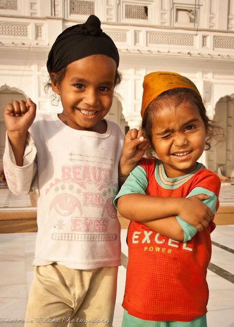 Sikh Children in Amritsar