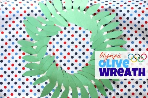 Olympic Olive WreathFuture Classroom, Wreaths Crafts, Crafts Ideas, Olympics Crafts, Crafts Art, Kids Crafts, Olive Wreaths, Ancient Olympics, Olympics Olive