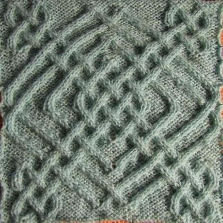Celtic Square 22/50/II   Craftsy   Knitting squares ...