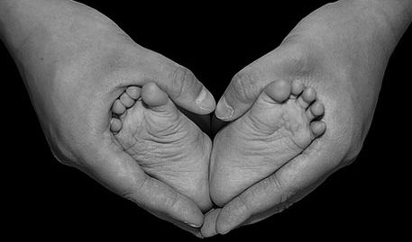 Feet, Hands, and Hearts.  So sweet.