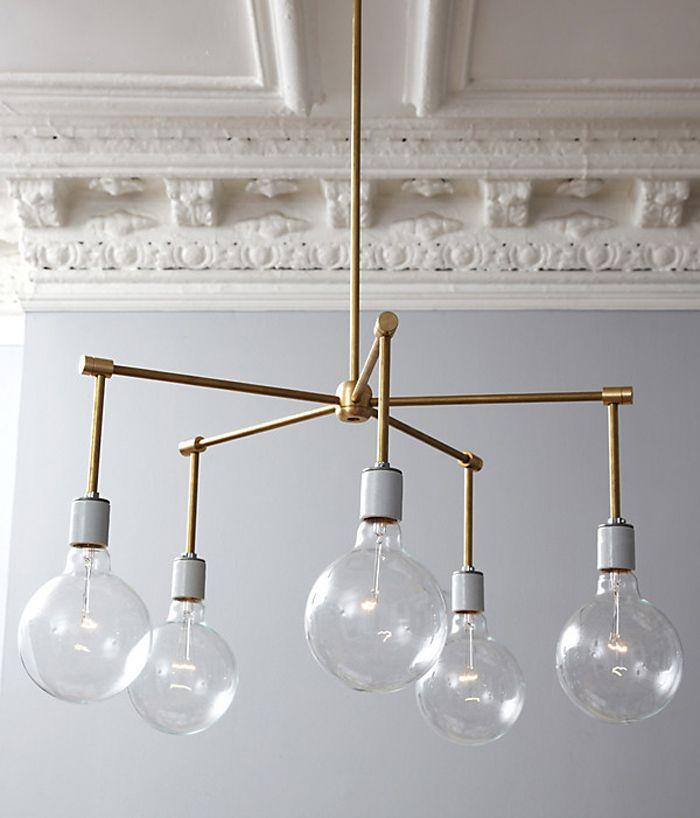diy chandelier but do it a little different