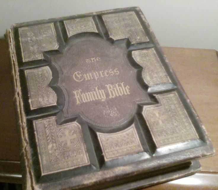 Empress Family Bible 1887
