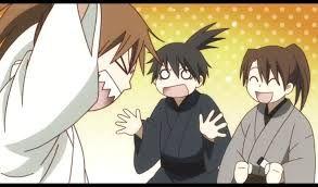Tsukishima, Kuroda and Seya