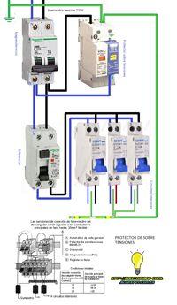 Esquemas eléctricos: protector de sobre tensiones
