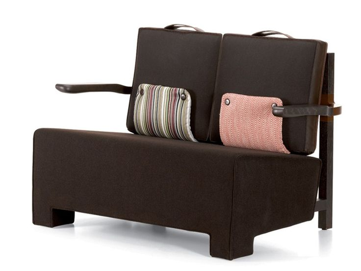 2 seater sofa THE WORKER SOFA The Worker Collection by Vitra | design Hella Jongerius