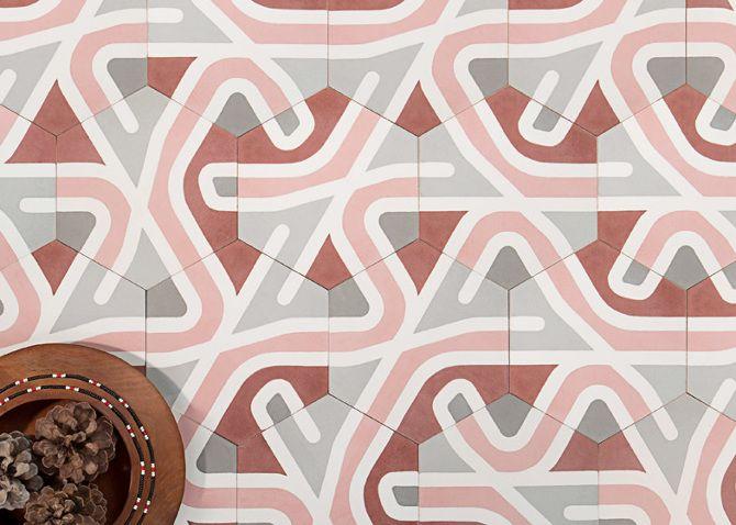 DESIGN: Le piastrelle esagonali di LaSelva  Incastri perfetti - Osso ...