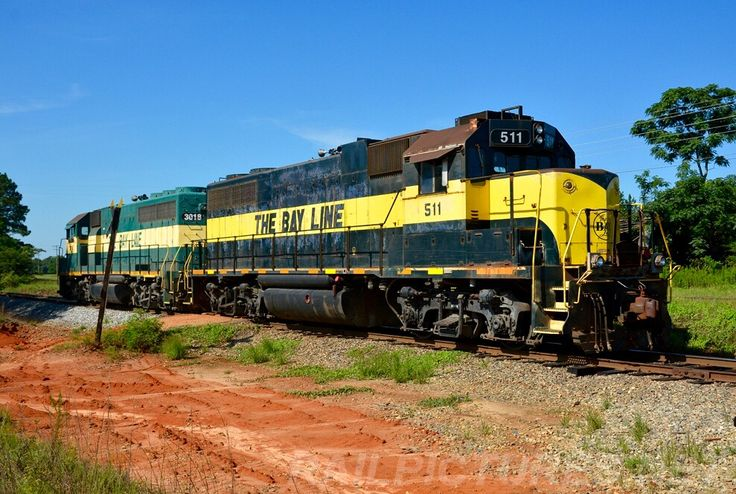 EMD GP38-2 Diesel Locomotive, BAYL 511 in Abbeville, Alabama, USA