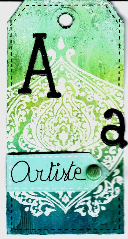 Lettre A - Artiste