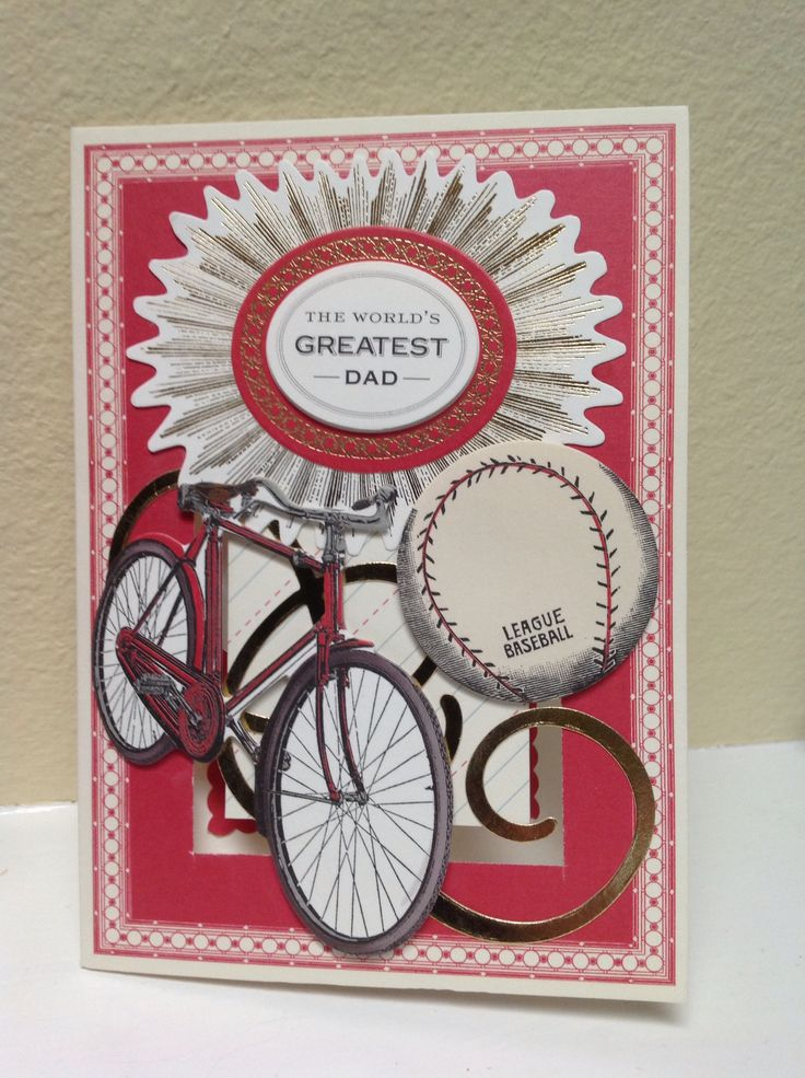 Anna Griffin all about him Father's Day card