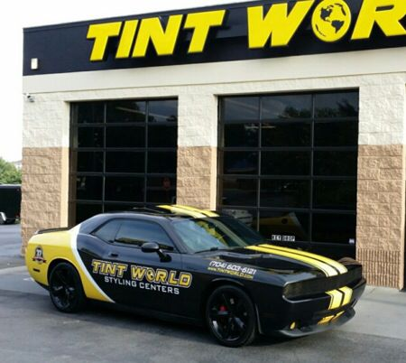 Tint World Charger Wrap