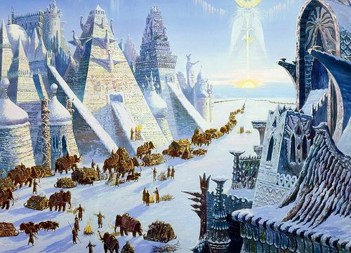 """Another legend that helped inspire the Cobbogothians is the legend of the Hyperboreans.  """"Neither by ship nor on foot would you find the marvellous road to the assembly of the Hyperboreans.""""  The Hyperborean were believed to live at the North Pole, and their lifetimes were as long as one thousand years."""