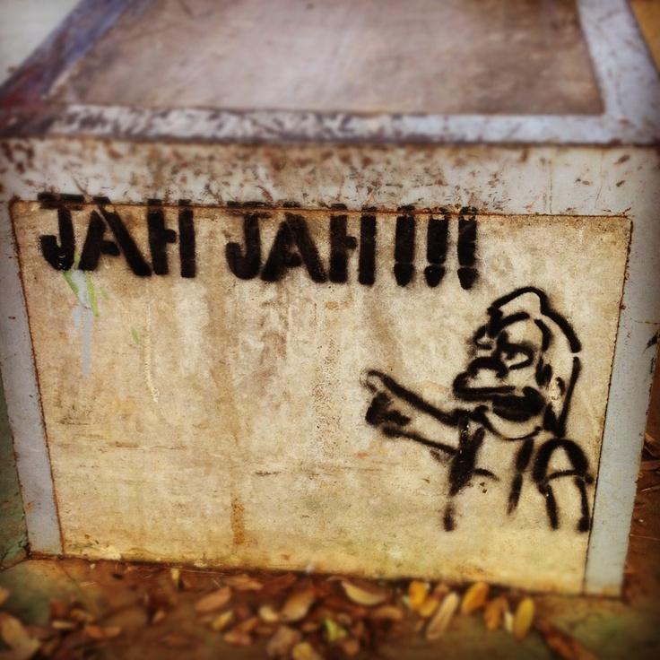 Jah, Jah!!! Stencil - Skate Park, Estación de Autobuses Plaza de Armas, Sevilla by Crisevillano