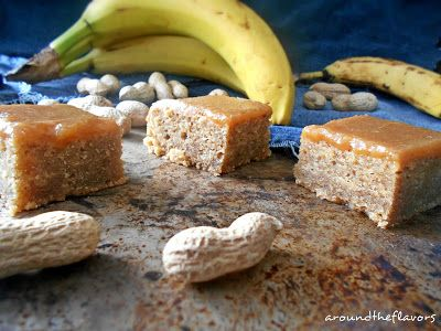 Bananowe blondies