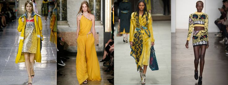 The Colors of FW14 – 10 Ways to Kick Out Black, Grey and Beige #yellow #thedailydagny
