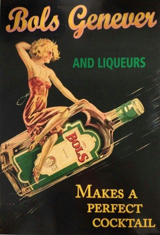 Bols genever and liqueurs