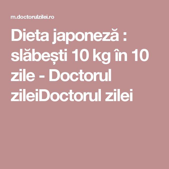 Dieta japoneză : slăbești 10 kg în 10 zile - Doctorul zileiDoctorul zilei