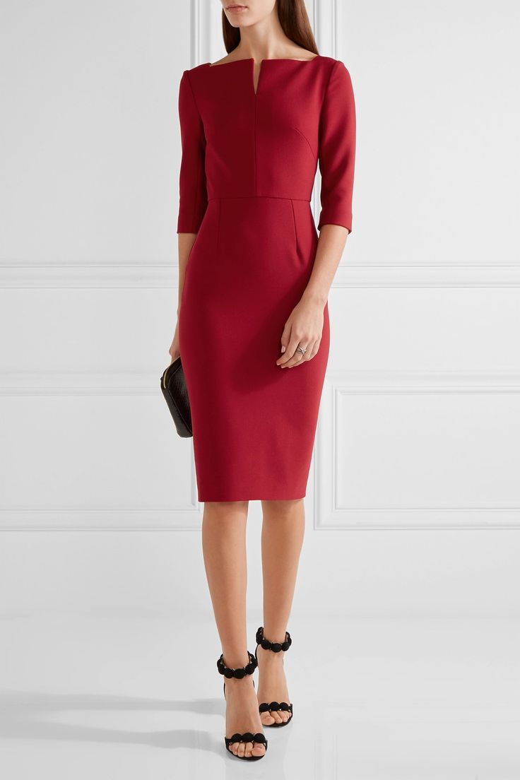 Roland Mouret | Etty stretch-crepe dress | NET-A-PORTER.COM