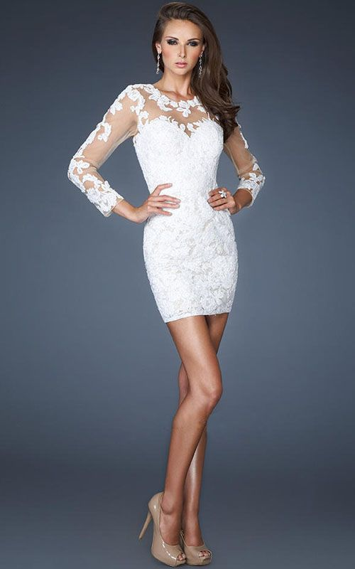 66 best images about White Dresses on Pinterest | Cocktail dresses ...