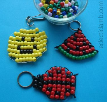 25 best ideas about pony bead projects on pinterest for Beads for craft projects