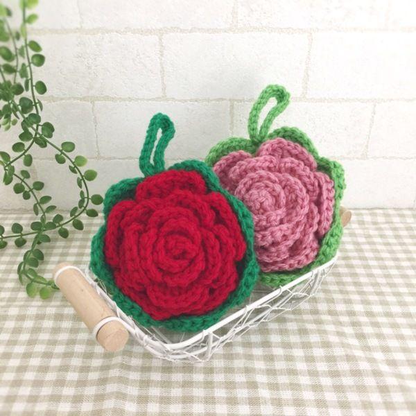 抗菌・防臭のアクリル毛糸で編みました。可愛いバラのエコたわしです。赤とピンクの2個セットになります。厚みがあるので持ちやすく丈夫です。お掃除や食器洗いに使用できます。少量の洗剤できれいに汚れを落とせます。ぜひ、お試しください。●カラー:赤×緑、ピンク×黄緑●サイズ:直径10㎝●素材:アクリル100%●注意事項:1個ずつ、丁寧に編ませていただいていますが、毛糸のため毛玉がつくことがございます。また、使用後も毛玉が出ることがございますので、ご了承ください。●作家名:amiami♡358#アクリルたわし #アクリルエコたわし #インテリア雑貨 #洗剤いらず #環境にやさしい #エコ #エコたわし #油汚れなどが良く取れる #便利 #キッチンスポンジ #台所用スポンジ #かぎ針 #食器や炊飯器の釜洗い #野菜洗い #シンク #グリルやコンロ #台所のタイルの壁 #キッチン雑#飾ってもかわいい #おしゃれなデザイン #毛糸 #手芸 #ハンドメイドアクリルたわし【配送】ゆうパック(保証・追跡サービスあり)レターパック(保証なし・追跡サービスあり)定形外郵便物…