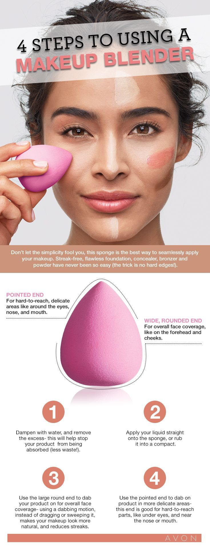Not sure how to use a makeup blending sponge? Here's the lowdown #AvonCanada