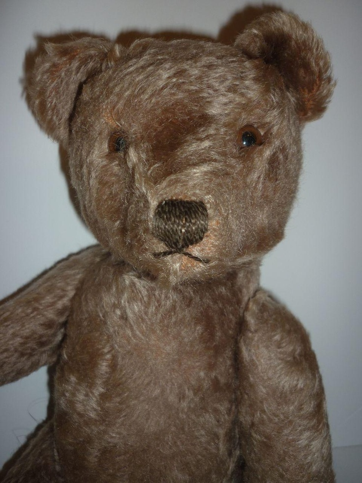 1950 S Steiff Teddy Bear Jointed Mohair Working Growler