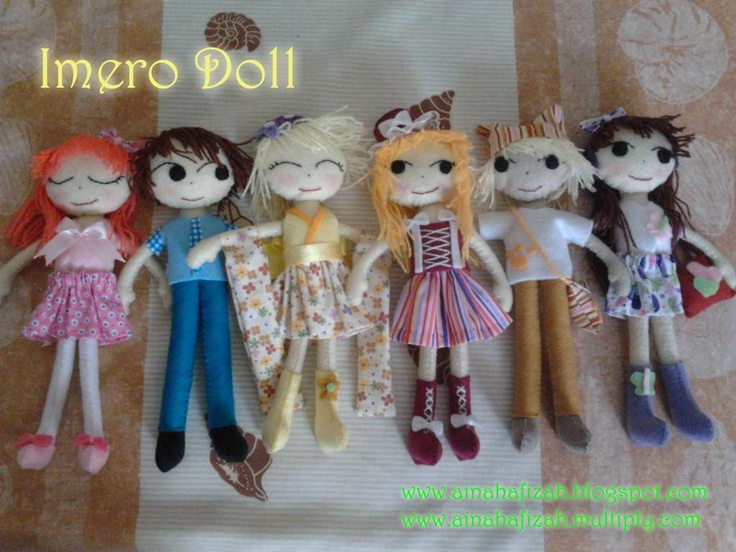 felt doll tutorial in Bahasa Indonesia